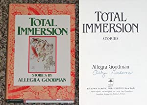 TOTAL IMMERSION - Scarce Fine Copy of The First Hardcover Edition/First Printing: Signed by ...