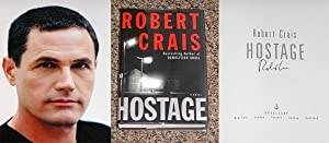HOSTAGE - Scarce Pristine Copy of The First Hardcover Edition/First Printing: Signed by Robert...