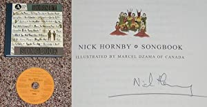 NICK HORNBY SONGBOOK - Rare Pristine Copy of The First Hardcover Edition/First Printing: ...