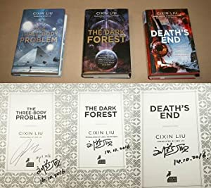 THE THREE-BODY PROBLEM/THE DARK FOREST/DEATH'S END: THE: Liu, Cixin (Author);