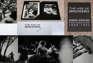 THE AGE OF ADOLESCENCE: JOSEPH STERLING PHOTOGRAPHS 1959-1964 - Rare Pristine Copy of The Limited ...