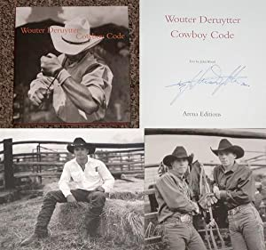 COWBOY CODE - Rare Pristine Copy of The First Hardcover Edition/First Printing: Signed, Placed...
