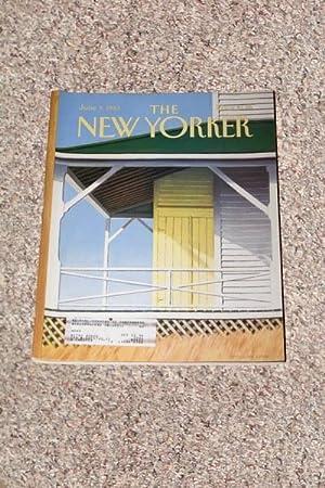 THE NEW YORKER MAGAZINE ISSUE: MARY MCCARTHY: Avedon, Richard; Croce,