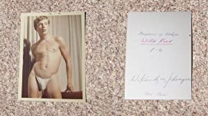 "WILLIE KOCH: ""STRING BIKINI"" COLOR PHOTOGRAPH BY WALTER KUNDZICZ - Rare Fine Original ..."