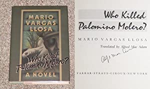 WHO KILLED PALOMINO MOLERO? - Rare Fine Copy of The First American Edition/First Printing: ...