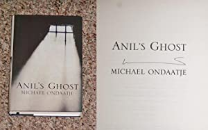 ANIL'S GHOST - Scarce Fine Copy of The First British Edition/First Printing: Signed by ...