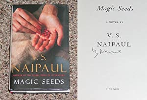 MAGIC SEEDS - Rare Pristine Copy of The First Hardcover Edition/First Printing: Signed by V.S....