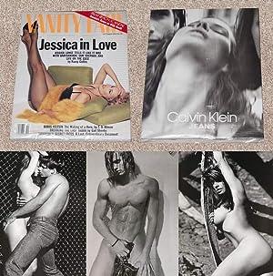 VANITY FAIR MAGAZINE ISSUE: WITH BRUCE WEBER/CALVIN: Weber, Bruce (Photographer);