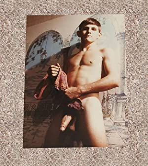 "DICK ENHOUSE: ""FULL-FRONTAL"" NUDE COLOR PHOTOGRAPH BY WALTER KUNDZICZ - Rare Fine ..."