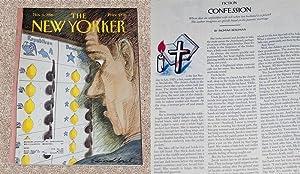 THE NEW YORKER MAGAZINE ISSUE: INGMAR BERGMAN: Bergman, Ingmar &