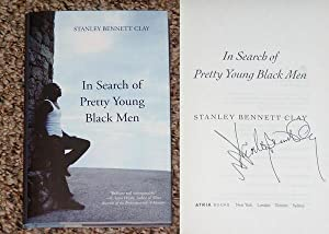 IN SEARCH OF PRETTY YOUNG BLACK MEN - Scarce Pristine Copy of The First Hardcover Edition/...