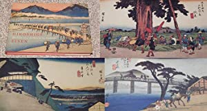 HIROSHIGE EISEN: THE SIXTY-NINE STATIONS OF THE KISOKAIDO - Scarce Pristine Copy of The First ...