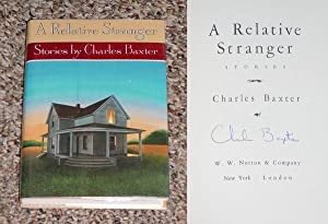 A RELATIVE STRANGER: STORIES - Scarce Fine Copy of The First Hardcover Edition/First Printing:...