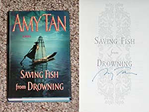 SAVING FISH FROM DROWNING - Scarce Pristine Copy of The First Hardcover Edition/First Printing...