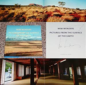 PICTURES FROM THE SURFACE OF THE EARTH: PHOTOGRAPHS BY WIM WENDERS - Rare Pristine Copy of The ...
