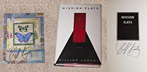 MISSION FLATS - Rare Fine Set: Copy of The First Hardcover Edition/First Printing With Rare ...