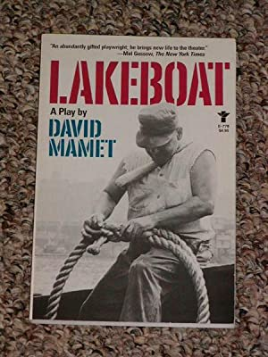 LAKEBOAT - Scarce Fine Copy of The: Mamet, David