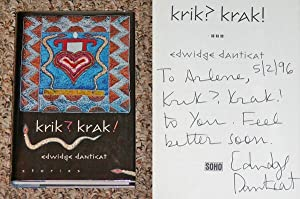 KRIK? KRAK! - Rare Fine Copy of The First Hardcover Edition/First Printing: Signed, Dated, And...