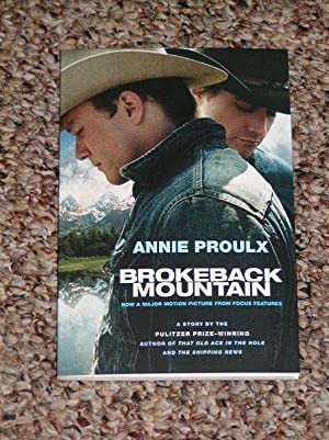 "BROKEBACK MOUNTAIN: THE FILM TIE-IN EDITION - Scarce Fine Copy of The First ""Film Tie-In""..."
