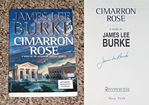 CIMARRON ROSE - Rare Fine Copy of The Advance Reader's Edition (ARC): Signed by James Lee ...