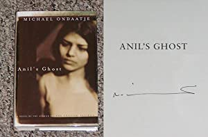 ANIL'S GHOST - Scarce Pristine Copy of The First American Edition/First Printing: Signed ...