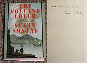 THE VOLCANO LOVER: A ROMANCE - Scarce Fine Copy of The First Hardcover Edition/First Printing:...