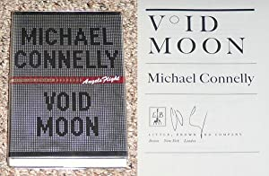 VOID MOON - Scarce Fine Copy of The First Hardcover Edition/First Printing: Signed by Michael ...