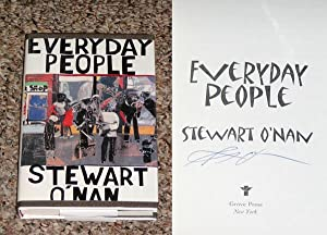EVERYDAY PEOPLE - Scarce Fine Copy of The First Hardcover Edition/First Printing: Signed by ...