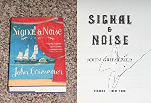 SIGNAL & NOISE - Scarce Pristine Copy of The First Hardcover Edition/First Printing: ...