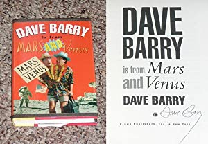 DAVE BARRY IS FROM MARS AND VENUS - Scarce Fine Copy of The First Hardcover Edition/First ...