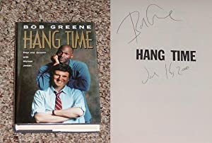 HANG TIME: DAYS AND DREAMS WITH MICHAEL JORDAN - Scarce Fine Copy of The First Hardcover Edition&#...