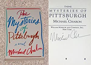 THE MYSTERIES OF PITTSBURGH: THE UNCORRECTED PROOF - Rare Fine Copy of The Advance Reader's ...