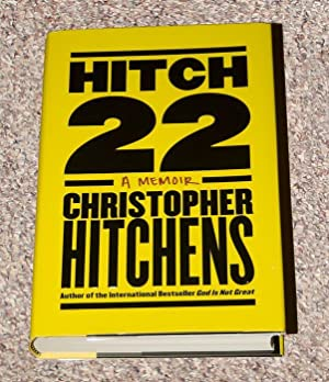 HITCH 22: A MEMOIR - Rare Fine Copy of The First Hardcover Edition/First Printing - ONLY COPY ...