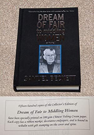 "DREAM OF FAIR TO MIDDLING WOMEN: A NOVEL - Scarce Fine Copy of The ""Collector's Edition&..."