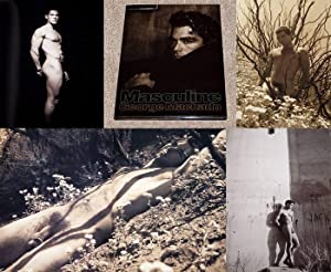 MASCULINE: PHOTOGRAPHS BY GEORGE MACHADO - Scarce Fine Copy of The First Hardcover Edition/...