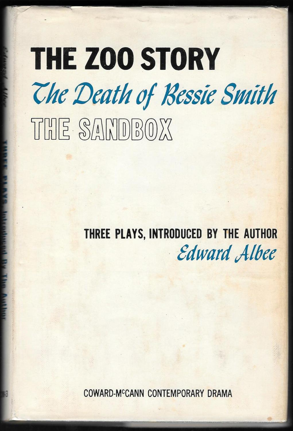 a review of the sandbox by edward albee Edward albee 484 likes 3 talking about this edward albee (1928-2016) received three pulitzer prizes for his plays.