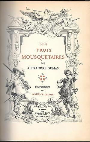 Les Trois Mousquetaires: Dumas, Alexandre
