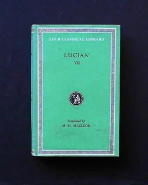 Lucian in eight volumes. Vol. II: Macleod, M. D.