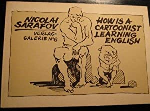 How is a cartoonist learning English.