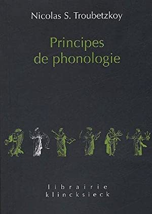 Principes de Phonologie.