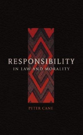 Responsibility in Law and Morality.