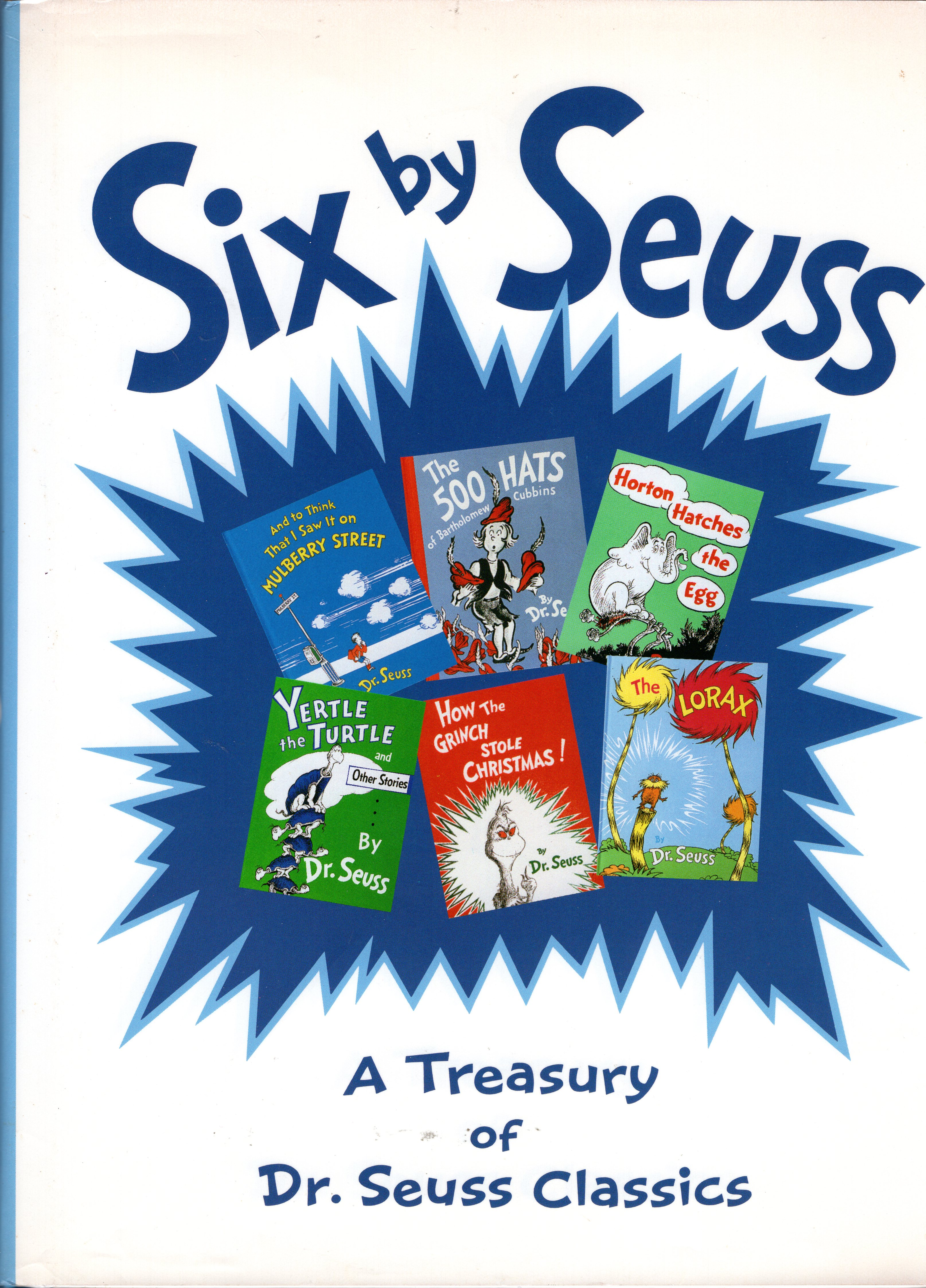 six by seuss a treasury of dr seuss classics