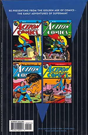 SUPERMAN : The Action Comics Archives Vol.2: Siegel, Jerry