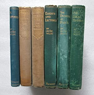 Six Oscar Wilde titles: De Profundis; Lord Arthur Saville's Crime; Selected Poems; Essays and Lec...