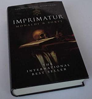 Imprimatur. DOUBLE SIGNED: Rita Monaldi, Francesco