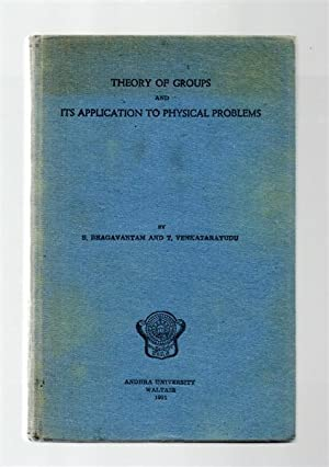 Theory of Groups and Its Application to Physical Problems.