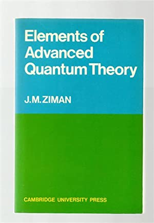 Elements of Advanced Quantum Theory