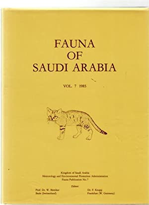 Fauna of Saudi Arabia Vol 7 1985