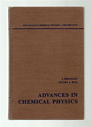 Advances in Chemical Physics Volume XVII.