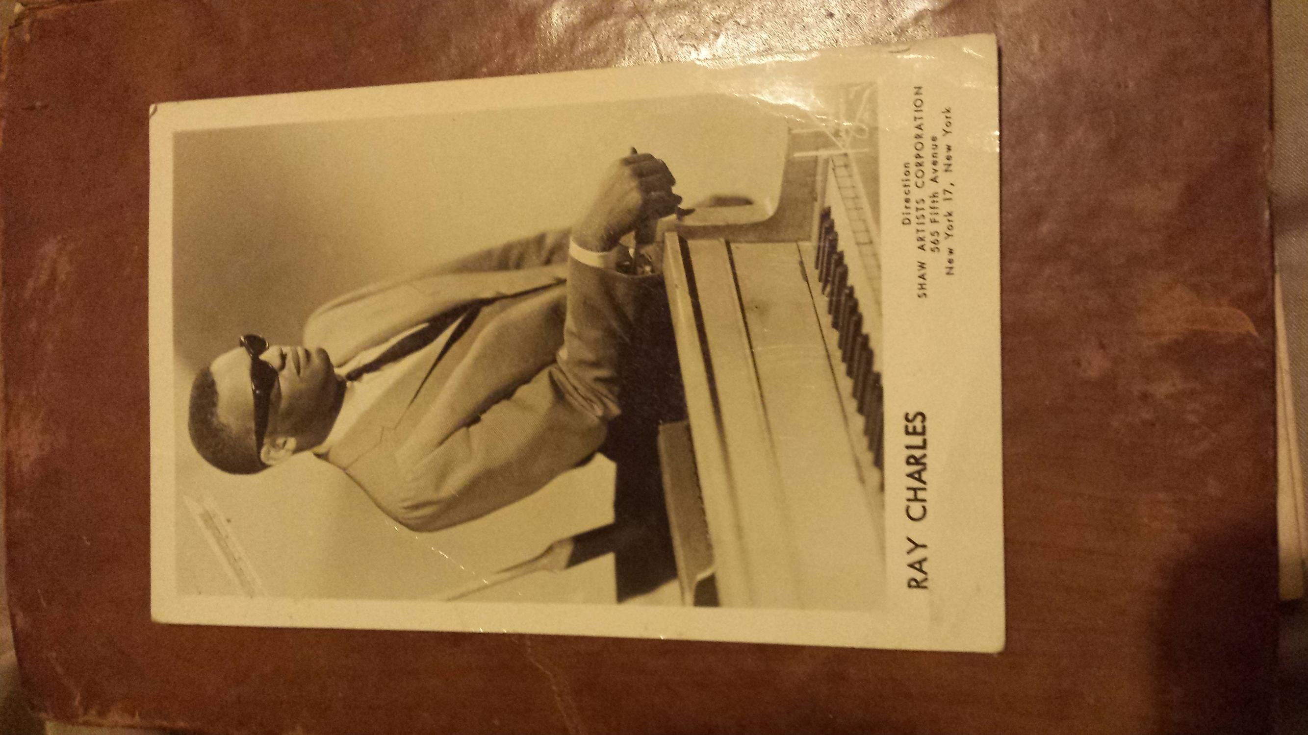 Ray charles autograph Ray charles Good Softcover